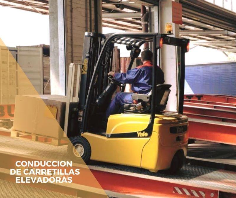 COML001PO CONDUCCIÓN DE CARRETILLAS ELEVADORAS