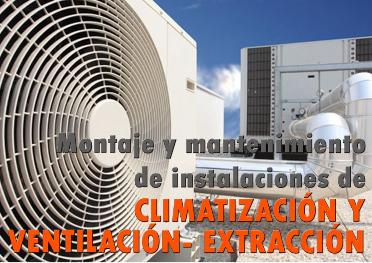 IMAR0208 - MONTAJE Y MANTENIMIENTO DE INSTALACIONES DE CLIMATIZACIÓN Y VENTILACIÓN EXTRACCIÓN