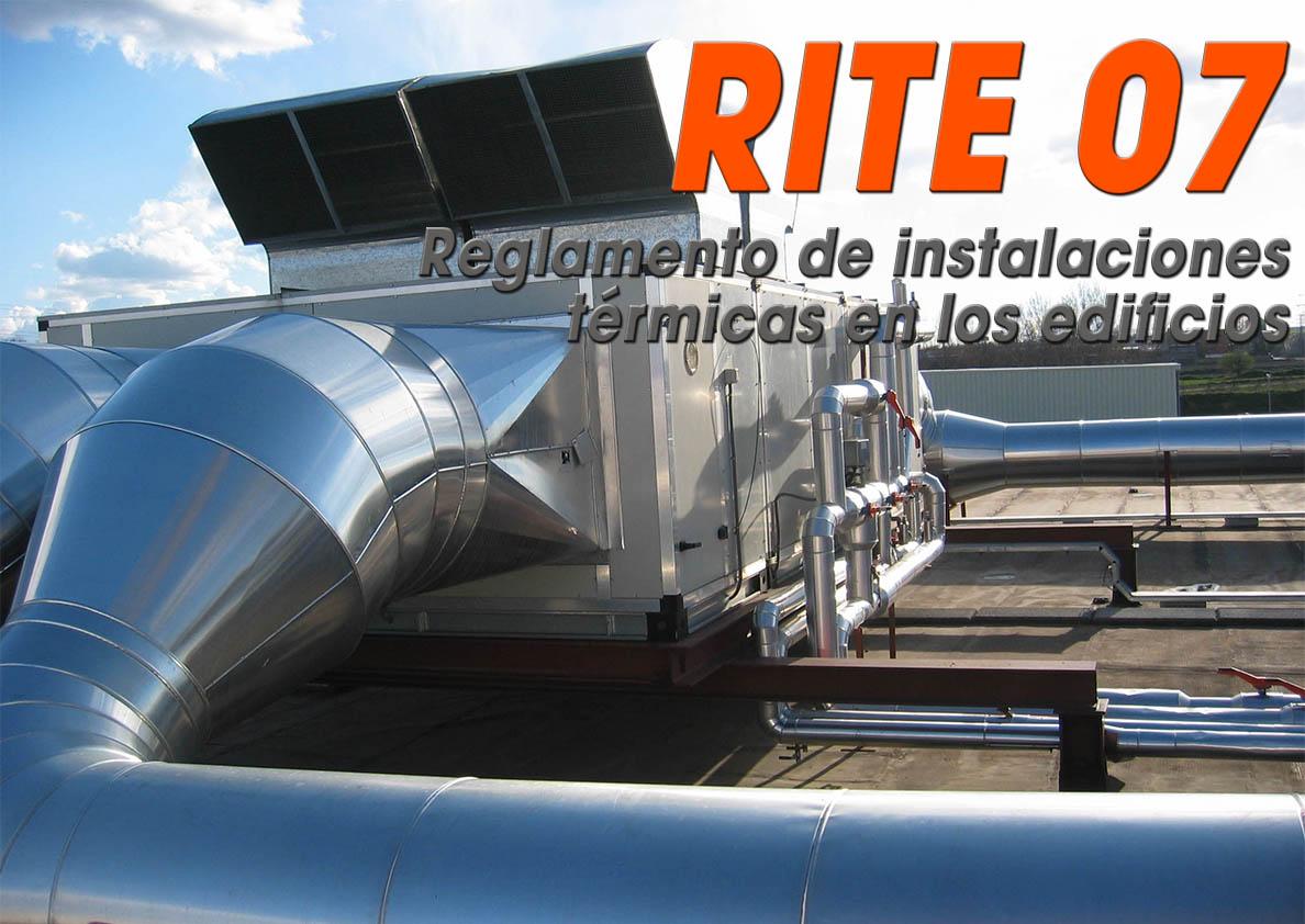 RITE07 - INSTALADOR MANTENEDOR DE INSTALACIONES TÉRMICAS EN EDIFICIOS